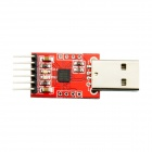 CP2102 USB to TTL Converter Module Red (DIY Electronic Parts Category)