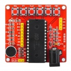 YX256 ISD1700 Series Voice Recording Module of ISD1760 -- Red Plus Black (DIY Electronic Parts Category)