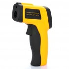 "1.2"" LCD Digital Infrared Thermometer Yellow Plus Black (Professional Tools Category)"