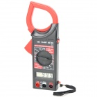 "1.8"" LCD Digital Clamp Multimeter Red Plus Black (1 x 6F22 9V) (Multimeters Category)"