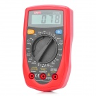 "UT33C 2.0"" LCD Digital Multimeter Red Plus Black (1 x 9V 6F22) (Multimeters Category)"