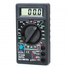 "1.8"" LCD Portable Digital Multimeter Black (1 x 6F22 / 9V) (Multimeters Category)"