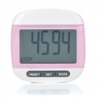 "1.7"" LCD Clip On Pedometer with Body Fat Analyser Colour Assorted (1 x LR1130) (Multimeters Category)"