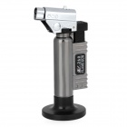 BS 260 1300'C Adjustable Butane Jet Torch Lighter with Stand Silver Plus Grey (Professional Tools Category)
