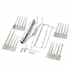 VZ480 29 in 1 2-LED Aluminium Handle Stainless Steel Lock Picks Set (Lock Picks & Tools Category)