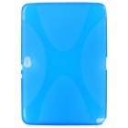 OM721 Protective X TPU Back Case for Samsung Galaxy Note 10.1 N8000 -- Blue (Mobile Phone Silicone Cases Category)