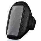 Outdoor Sports Arm Band for HTC ONE X Black (Mobile Phone Accessories Category)
