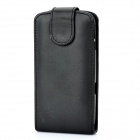 Protective Leather Case for Samsung Galaxy Nexus i9250 Black (Mobile Phone Leather Cases Category)