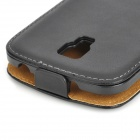 BB331 Protective PU Leather Flip Open Case for Samsung Galaxy S4 Active i9295 -- Black (Mobile Phone Leather Cases Category)