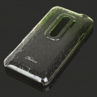 Gradient Color Water Drop Protective PC Back Case for HTC G17 Transparent Green (Mobile Phone Plastic Cases Category)