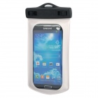 AC876 Waterproof Protective PVC Bag with Strap Plus Armband for Samsung i9500 -- Black Plus White (Mobile Phone & PDA Holders Category)
