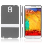 NH403 ENKAY Protective TPU Back Case with Holder Stand for Samsung Galaxy Note 3 N9000 -- Grey (PDA Gadgets Category)