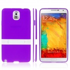 CX215 ENKAY Protective TPU Back Case with Holder Stand for Samsung Galaxy Note 3 N9000 -- Purple (PDA Gadgets Category)