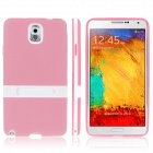 CY570 ENKAY Protective TPU Back Case with Holder Stand for Samsung Galaxy Note 3 / N9000 -- Pink (PDA Gadgets Category)