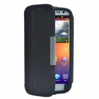MG228 Discovery Buy Lychee Pattern PU Leather Case Cover Stand for Samsung Galaxy S3 i9300 -- Black (PDA Gadgets Category)