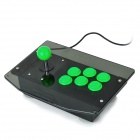 GI889 DIY Arcade Joystick Controller for PC / PS2 -- Green Plus Black (1--GD60 centimetres Cable) (Game Boy Accessories Category)