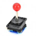 QZ340 Repair Parts Replacement Red Ball Joystick with 4-Switch for Arcade -- Black Plus Red (Game Boy Accessories Category)