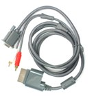 VGA HD AV Cable for Xbox 360 (Xbox Accessories Category)