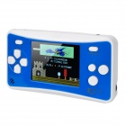 HJ768 2.5 Inches LCD Portable Game Console with Built In Games -- Blue Plus White (3 x AAA) (Other Game Consoles Category)