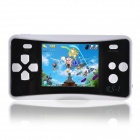EA160 2.5 Inches Handheld Game Console with Speaker / Built In Games -- Black Plus White (256M / 3 x AAA) (Other Game Consoles Category)