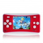 AB711 2.5 Inches Handheld Game Console with Speaker / Built In Games -- Red Plus White (256M / 3 x AAA) (Other Game Consoles Category)