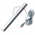 Infrared Ray Inductor Sensor Bar for Wii Black Plus Silver (Wii Accessories Category)
