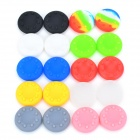 OM795 Anti-slip Silicone Analogue Thumb Stick / Joystick Caps for Xbox 360 PS3 / PS2 -- Multi-coloured (20 Pieces) (Gaming Accessories Category)