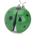 WS439 Ladybug Car Outlet Perfume Air Fresher -- Green (Cologne-Scent) (Air Fresheners Category)