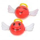 WU781 Angel Infuse Visual Delight Aroma Car Air Freshener -- Red (2 Pieces) (Air Fresheners Category)