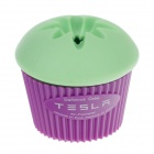 JJ756 YI-LUSHI-GD Cake Green Tea Scent Automatic Car Air Freshener -- Green Plus Purple (Air Fresheners Category)