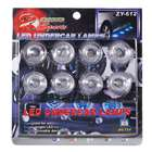 8 LED Vehicle Waterproof Decoration / Signal Lamp Bulbs (12V White) (Car Decorations Category)
