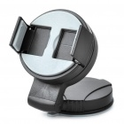 Universal Car Swivel Suction Cup Mount Holder Cell Phone / GPS / MP4 Black Plus Grey (Mobile Phone & PDA Holders Category)