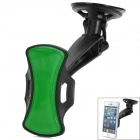 AH703 Multi-Functional GPS / Cell Phone Car Mount Stand Holder -- Black Plus Green (Mobile Phone & PDA Holders Category)