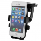 DB995 Universal Suction Cup Car GPS / Mobile Phone Plastic Holder -- Black (Mobile Phone & PDA Holders Category)