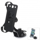 360 Degree Rotation Holder Mount Bracket with DA929 Suction Cup for Samsung N9300 -- Black (Mobile Phone & PDA Holders Category)
