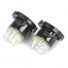 0.15W 3 LED Car Instrument White Light Bulb (Pair) (Car Parts Category)