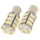 1156 BA15S 3.25W 6500K 216 Lumen 54 3528 SMD LED White Light Bulb (DC 12V / Pair) (Car LED Light Bulbs Category)