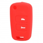 Protective Silicone Case for Chevrolet Epica 2 Key Remote Key Red (Car Replacement Keys Category)