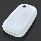 Protective Silicone Case Cover for Buick Roewe 3 Button Car Remote Key Transparent (Car Replacement Keys Category)