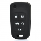 Protective Silicone Case for Buick 4 Button Remote Key Black (Car Replacement Keys Category)