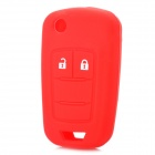 Replacement 2 Button Remote Key Shell Case Red (Car Replacement Keys Category)