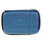 "Protective EVA Case Bag for 5"" GPS Dark Blue (GPS Gadgets Category)"