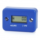 "1.0"" LCD Screen Hour Meter for Motorcycle / ATV / Snowmobile / Marine Blue (1 x CR2430) (Motorcycle Gadgets Category)"
