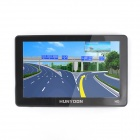 RN345 HUNYDON HY-180 7 Inches Resistive LCD Screen Win CE 6.0 European Map GPS Navigator -- Black (GPS Gadgets Category)
