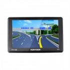 AH193 HUNYDON HY-108 5 Inches Resistive LCD Screen Win CE 6.0 European Map GPS Navigator -- Black (GPS Gadgets Category)