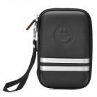 KR701 G--COVER-GD Protective EVA Plus Nylon Bag Case for 5 Inches GPS Navigator -- Black (GPS Gadgets Category)