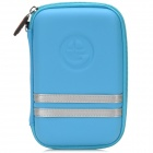 RO407 G--COVER-GD Protective EVA Nylon Bag for 5 Inches GPS Navigator -- Blue Plus Silver (GPS Gadgets Category)