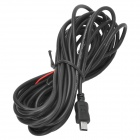 KZ534 Car Voltage Reducing USB Cable for GPS / DVR -- Black (12 / 24V) (GPS Gadgets Category)