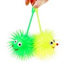 Glow in the Dark Soft Urchin Stress Relievers (2 Pack / Large) (Toys Category)