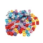 Dice (Colourful 100 Pack) (Toys Category)
